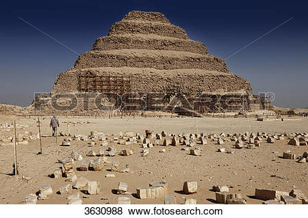 Pictures of Step pyramid of Djoser, Saqqara, Egypt 3630988.