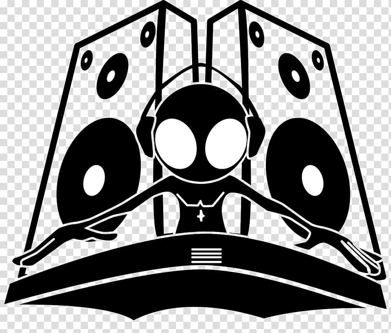 Disc jockey Music Logo El Guachoon Phonograph record, djs.
