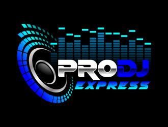 Platinum Parties DJs logo design.