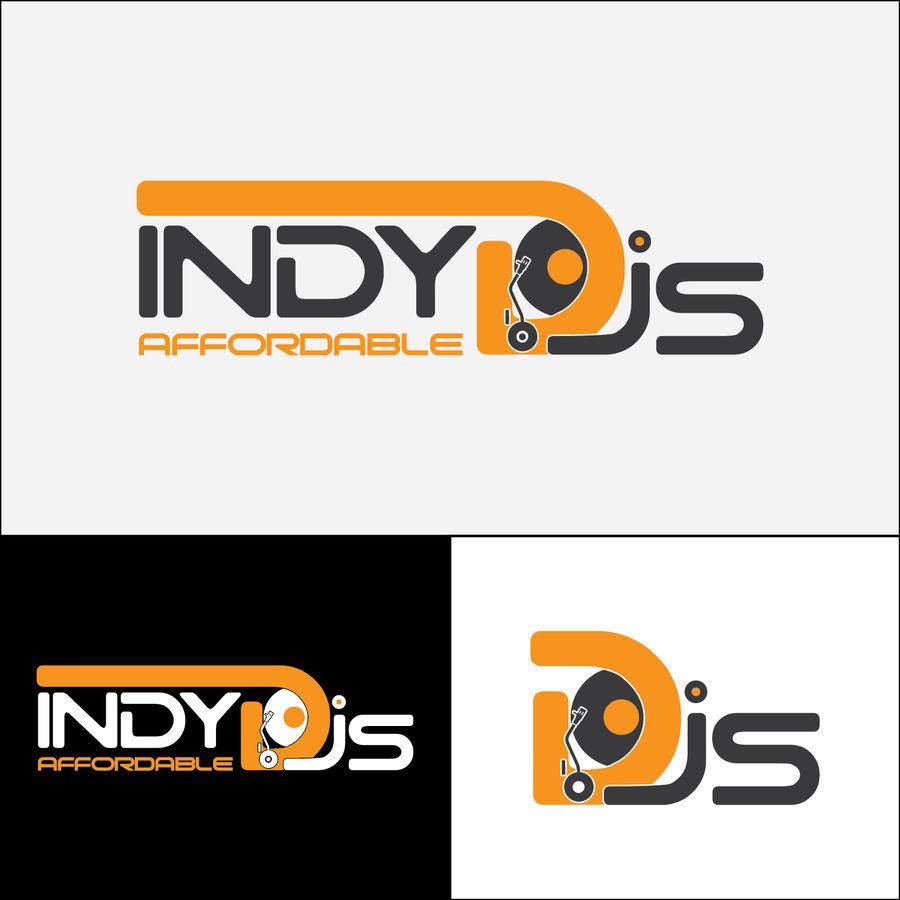 Entry #4 by farazsabir for Indy Affordable DJs Logo.