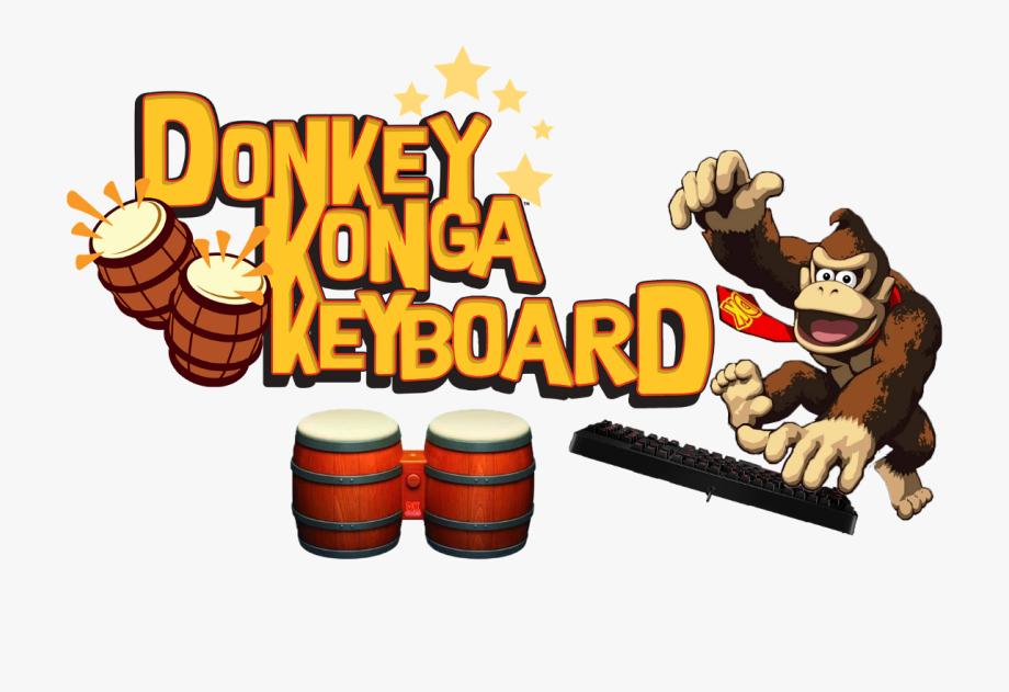 Donkey Kong Bongos Clipart , Png Download.