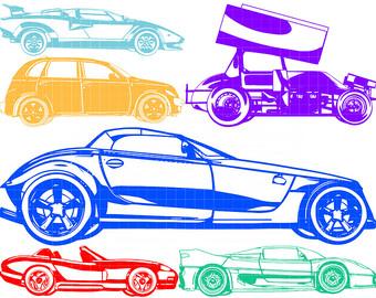 Items similar to Car, Bus, Truck SET.