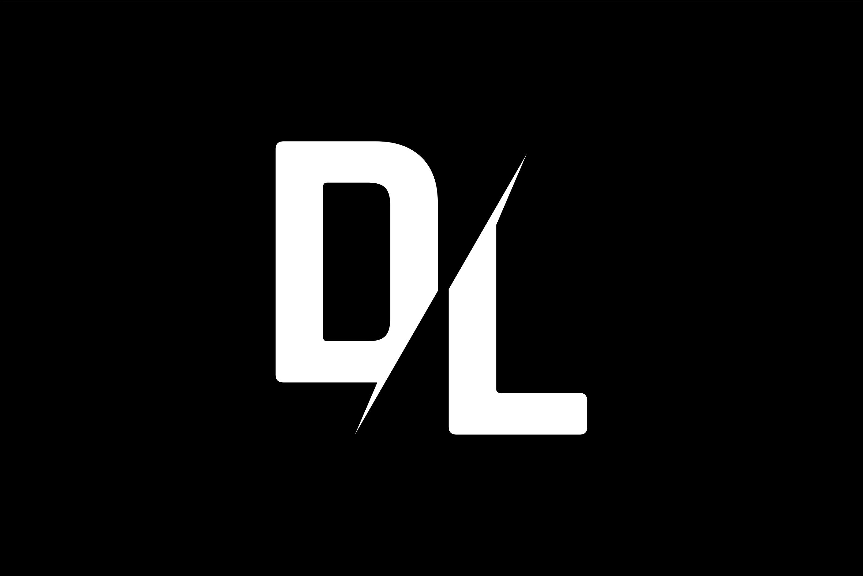 Monogram DL Logo.