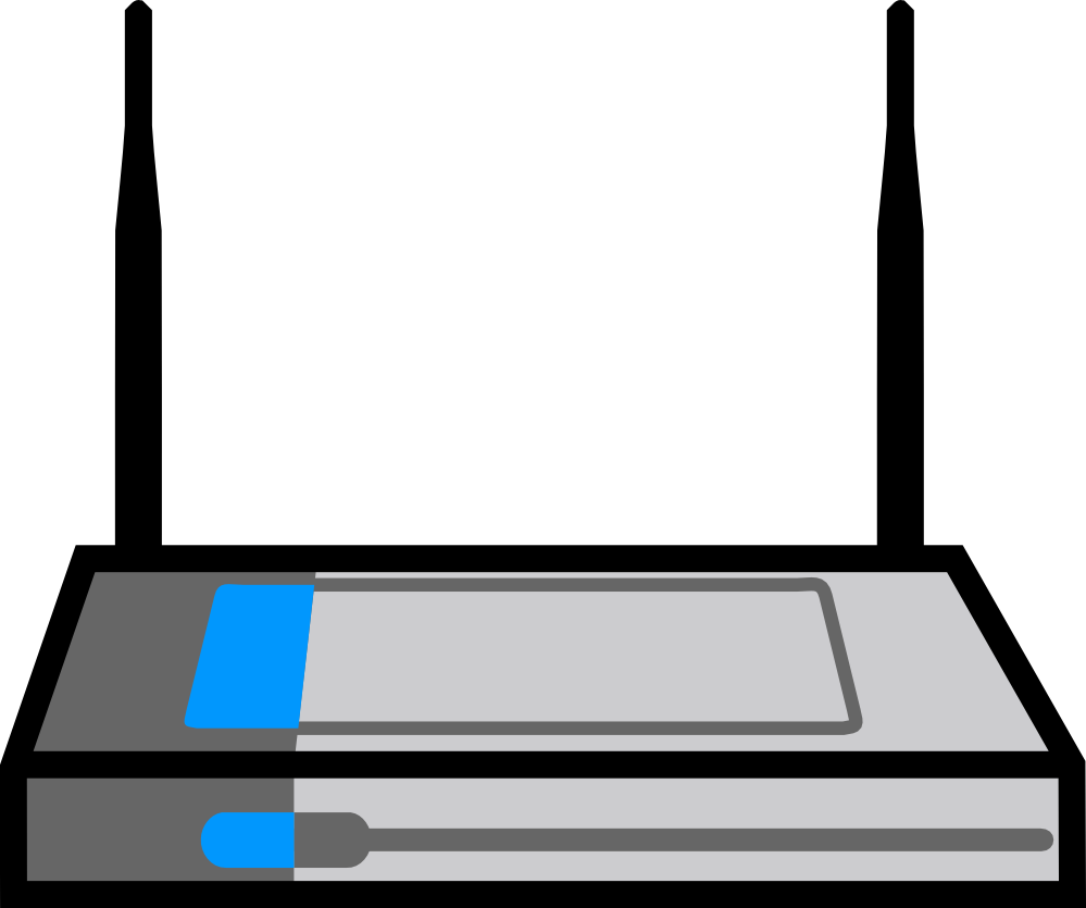 Clip Art: Wireless Router Dlink Wireless Router.