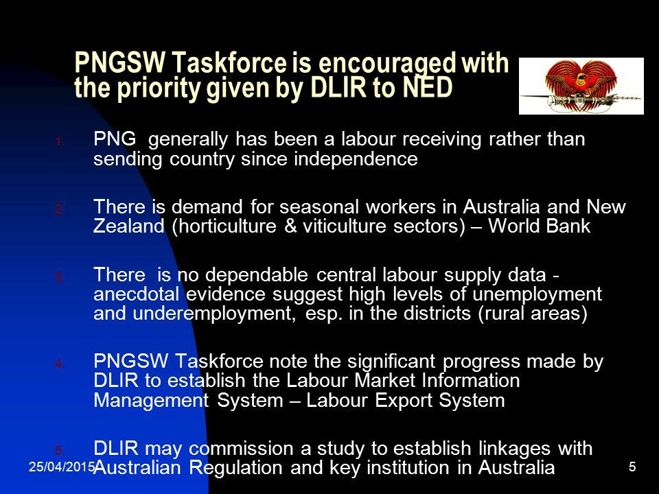 PNG Seasonal Worker Scheme.