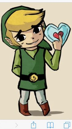 Some of the best proportions, Windwaker style.