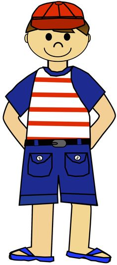 Boys' Clothes Clipart.
