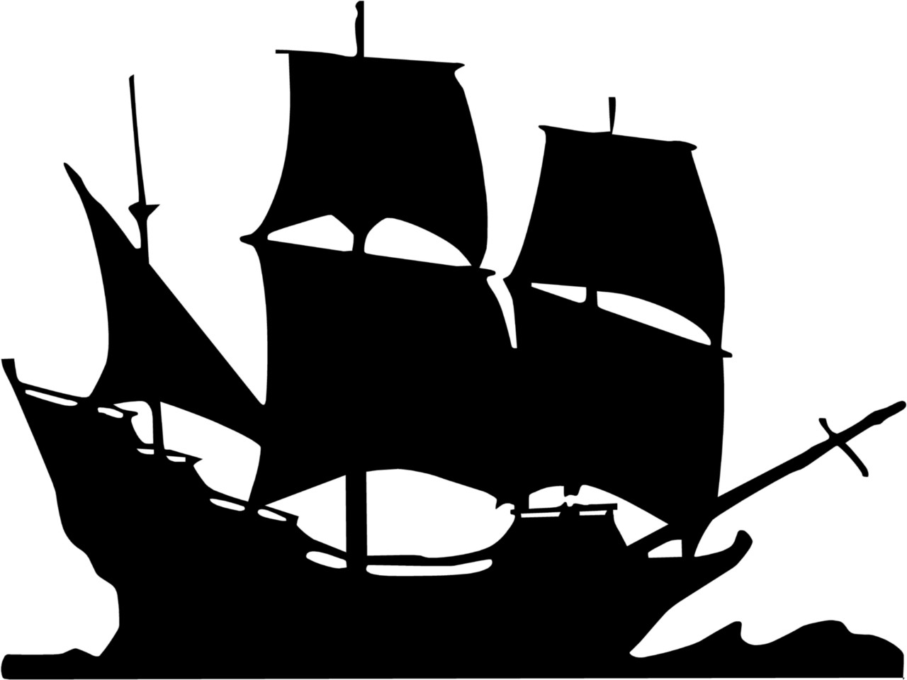 Pirate Ship Clipart.