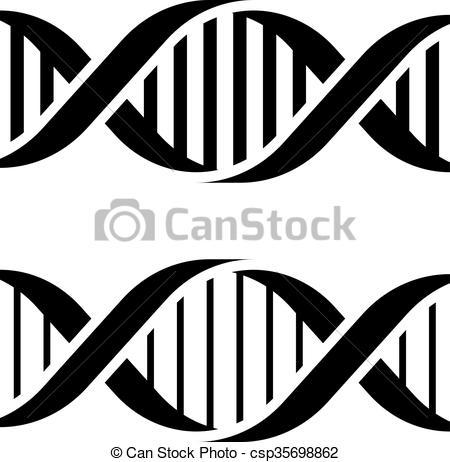 Black and white dna clipart 2 » Clipart Portal.