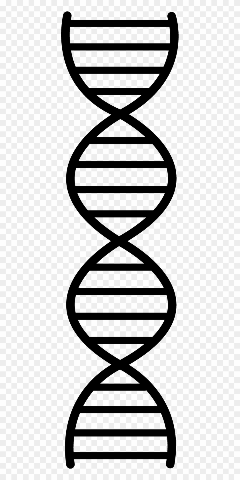 Royalty Free Black And White Dna Clipart.