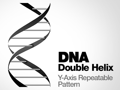 Free DNA Double Helix Clipart and Vector Graphics.