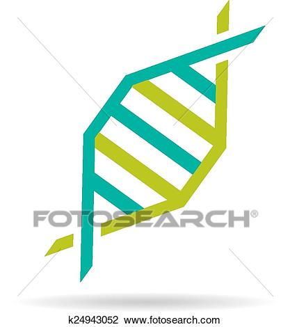 DNA molecule icon Clipart.