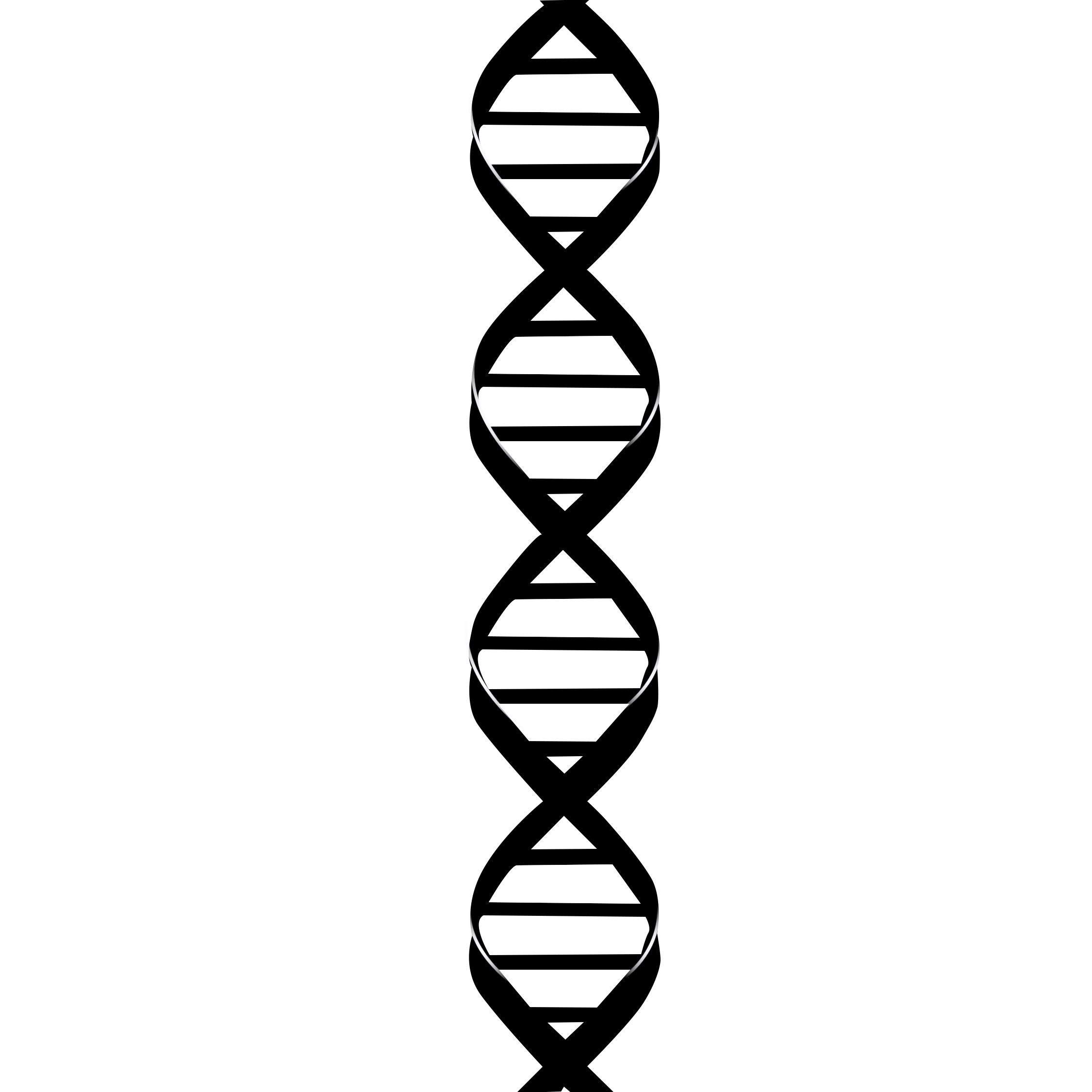 Dna Strand Drawing.