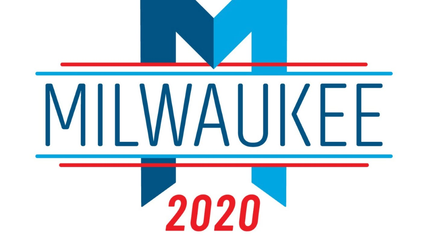 Here\'s how the 2020 DNC Milwaukee host committee logo came.