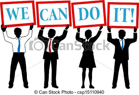 Clip Art We Can Do It Clipart.