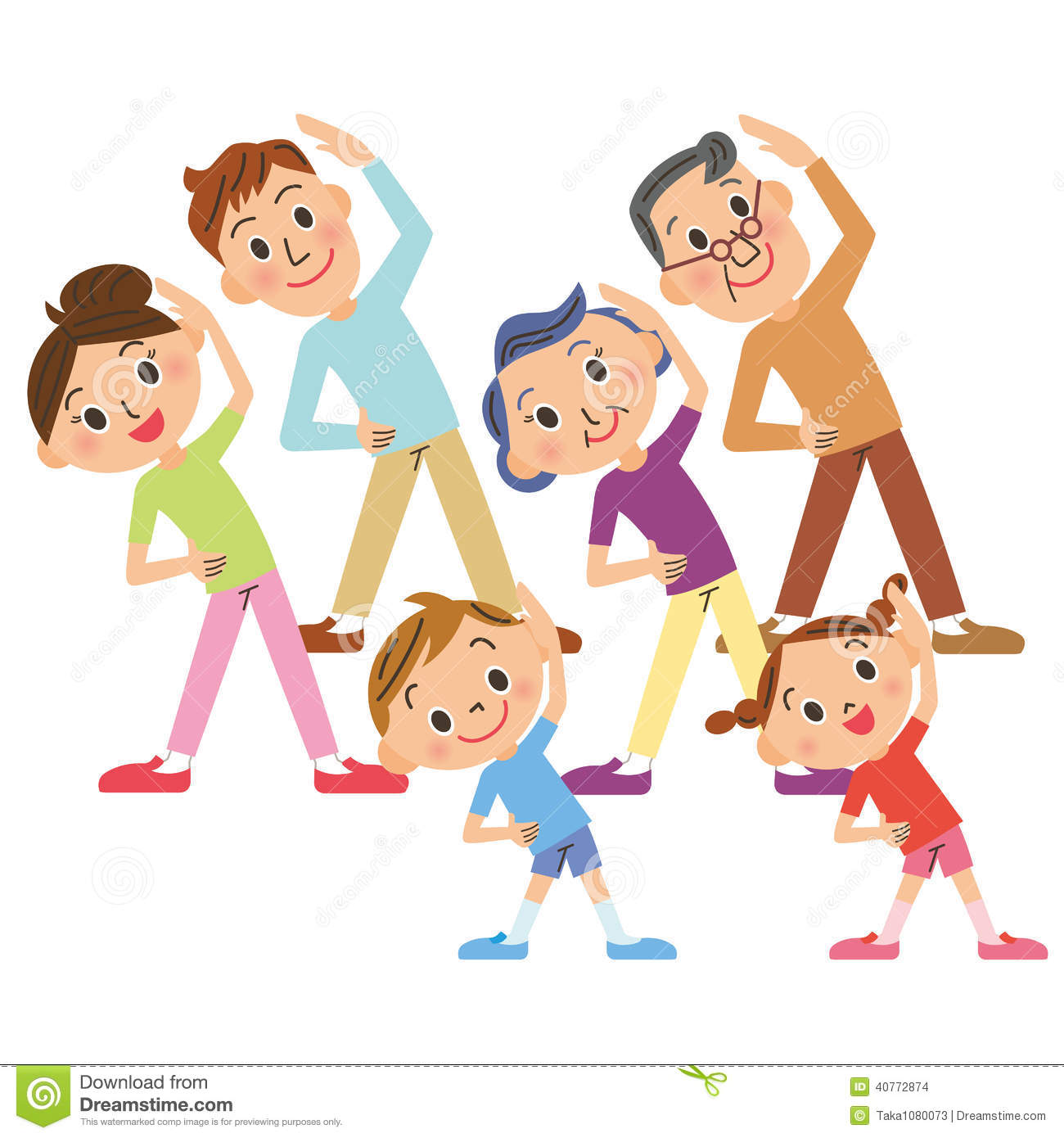 Do exercise clipart 5 » Clipart Station.