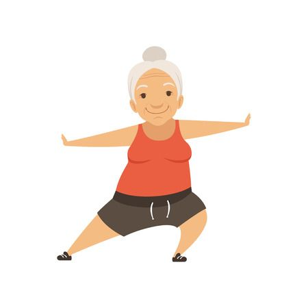 2,586 Senior Exercise Stock Illustrations, Cliparts And Royalty Free.