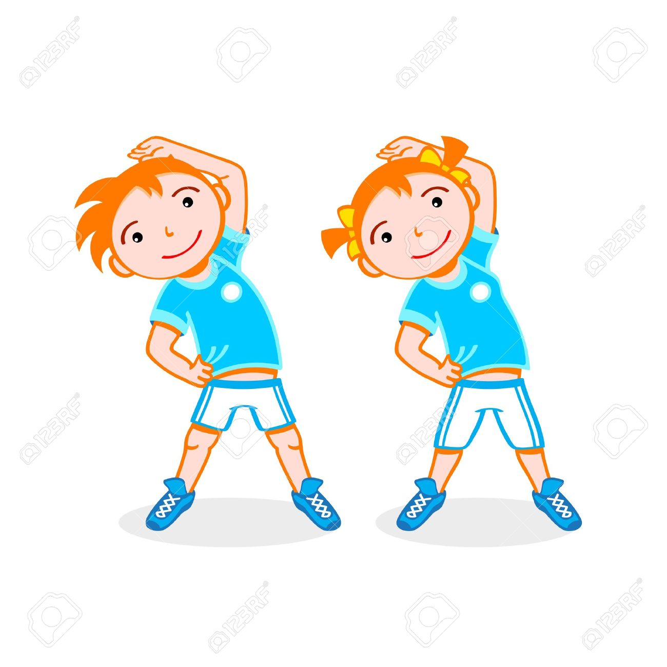 Do exercise clipart 4 » Clipart Station.
