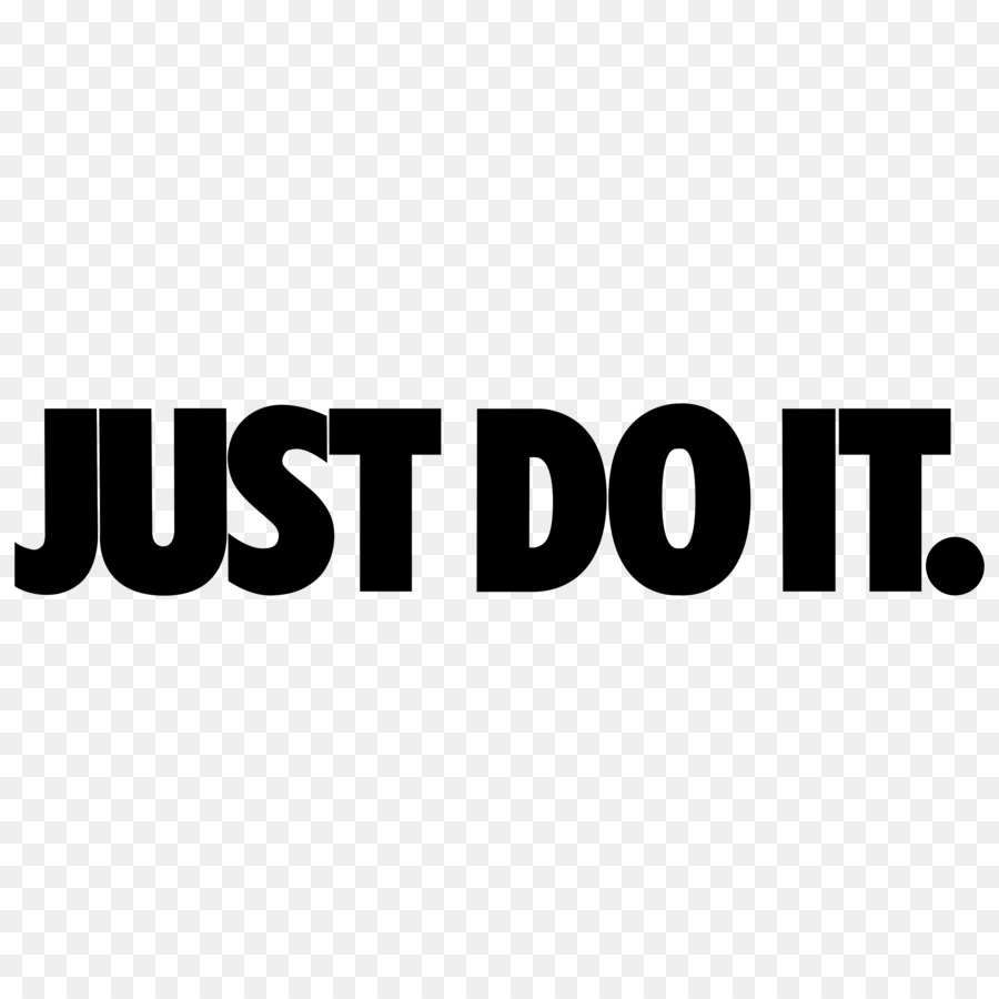 Png Just Do It & Free Just Do It.png Transparent Images #9545.