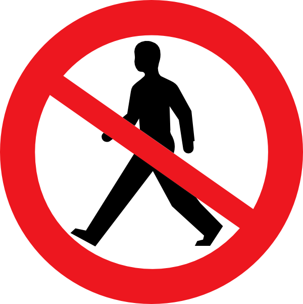 Do Not Enter Clipart.