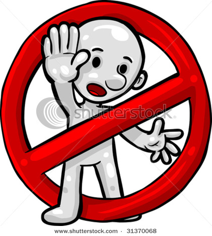Do Not Clipart.