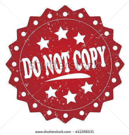 Do Not Copy Stamp Banque d'Image Libre de Droit, Photos, Vecteurs.