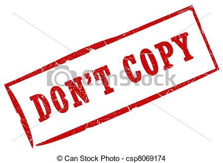 Do Not Transfer Clipart.