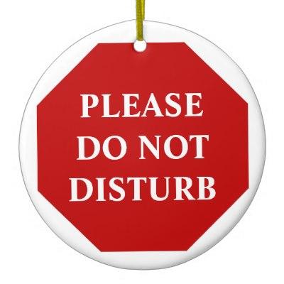 80+ Do Not Disturb Clipart.