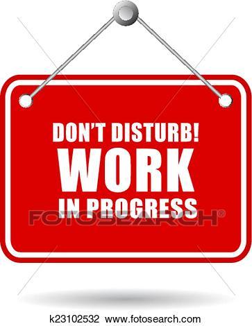 Do not disturb Clipart.