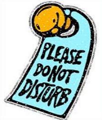 Free Do Not Disturb Clipart.