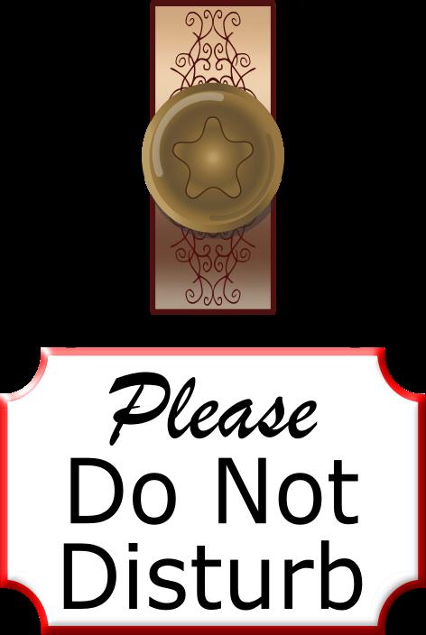 71+ Do Not Disturb Clipart.