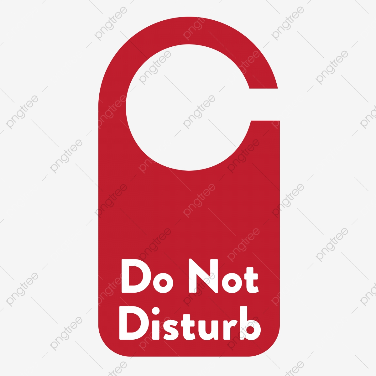 Do Not Disturb, Sign, Privacy, Silent PNG and Vector with.
