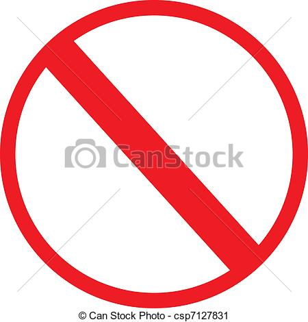 Not enter sign Clipart Vector and Illustration. 893 Not enter sign.