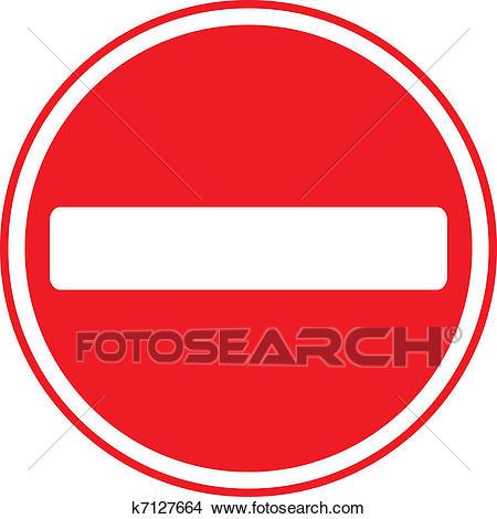 Do Not Enter Sign Clipart.