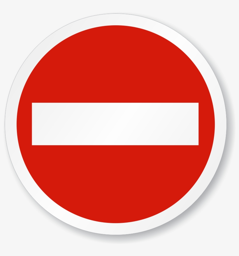 Do Not Enter Sign Png PNG Image.