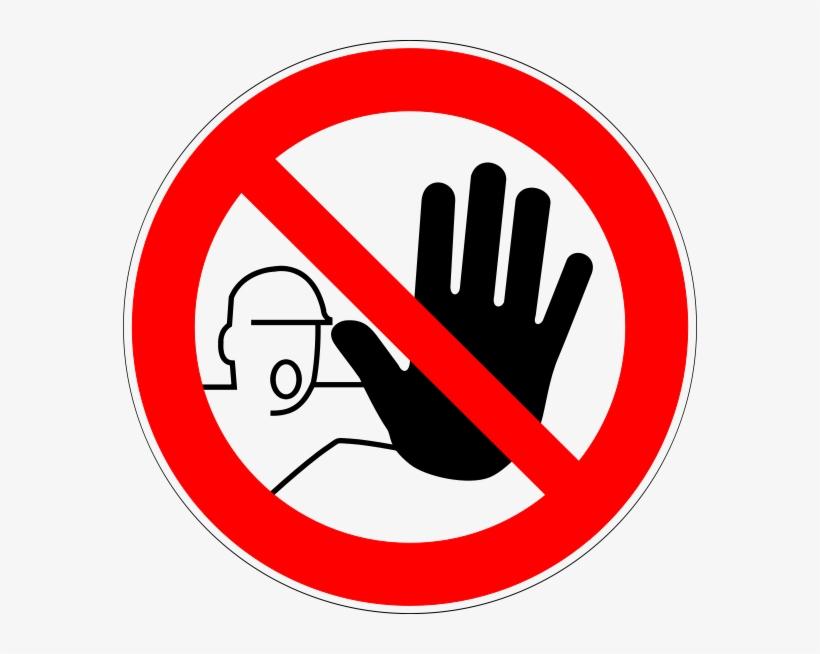 Do Not Enter Sign Printable.