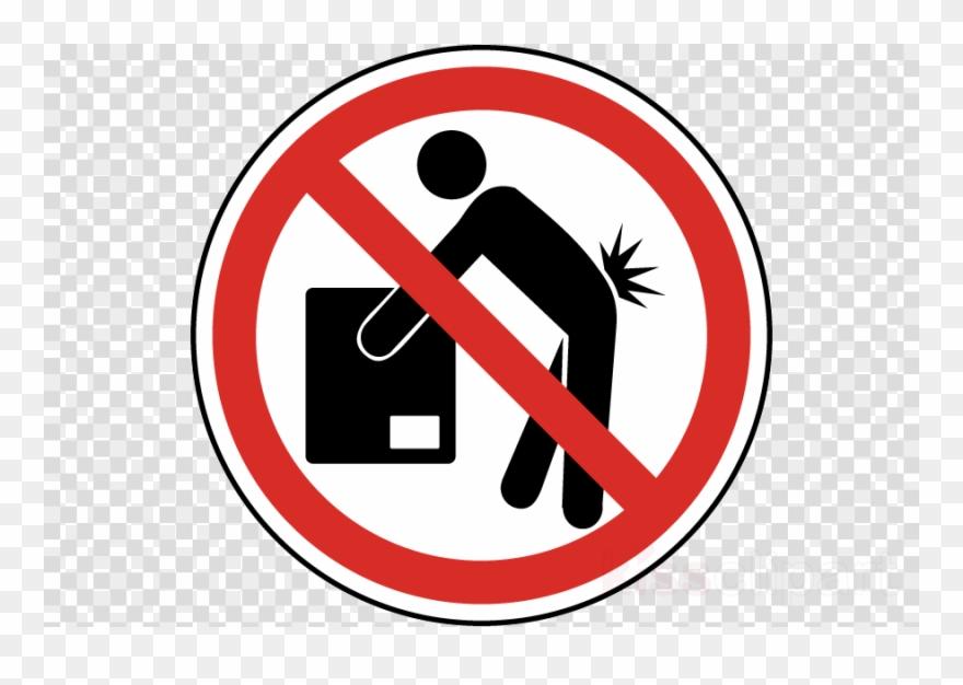 Do Not Lift Sign Clipart Label No Symbol Clip Art.