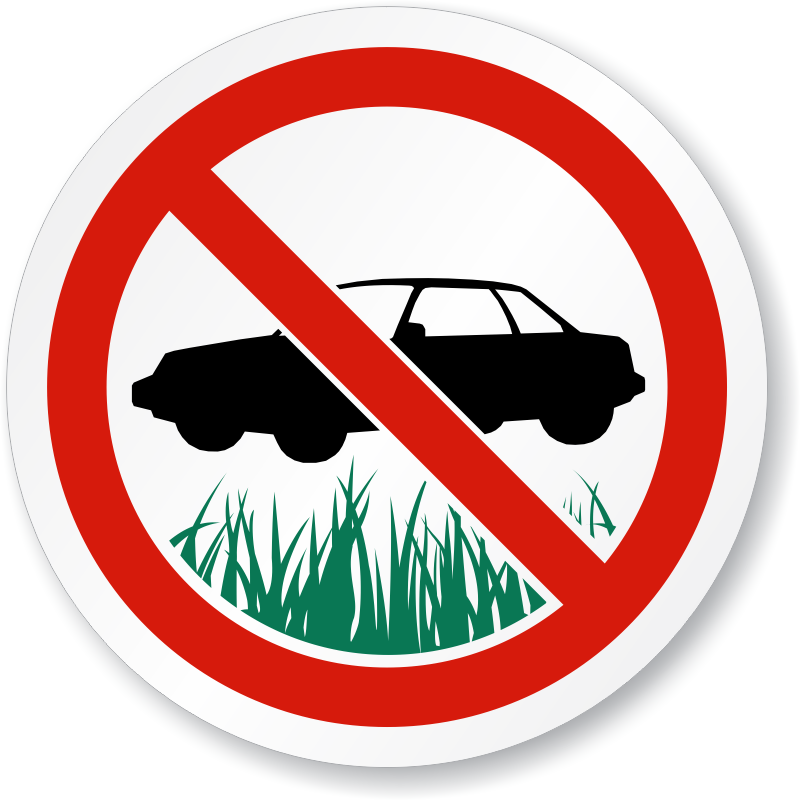 No Parking In The Driveway Clipart & Free Clip Art Images #28049.