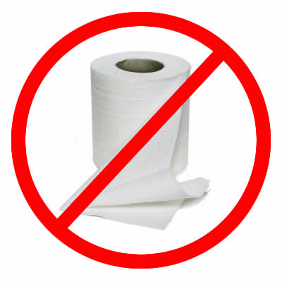Showing post & media for Cartoon paper towels down toilet.
