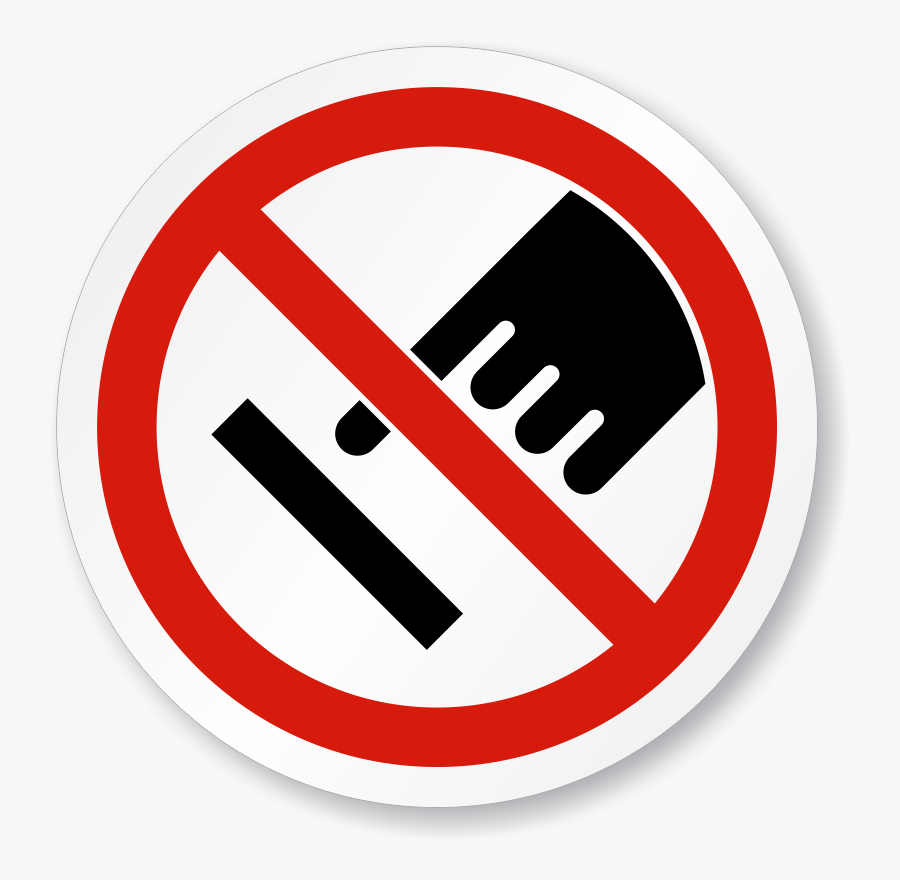 Do Not Touch Sign Transparent Clipart , Png Download.