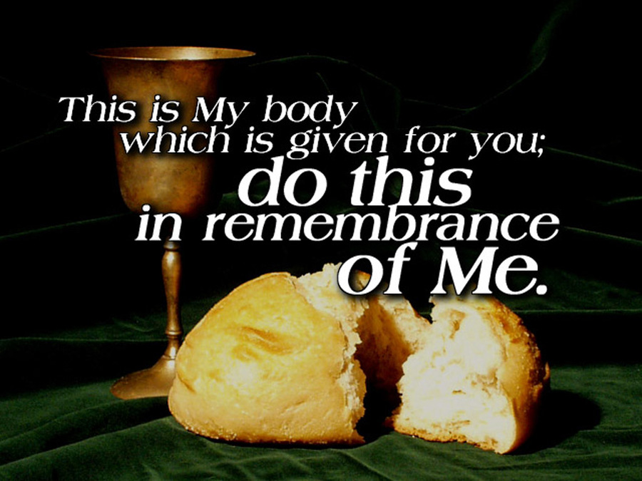 Download do this in remembrance of me clipart Eucharist Last Supper.