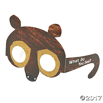 Carle's Brown Bear, Brown Bear, What Do You See? Glasses.