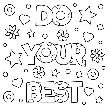 145 Do Your Best Cliparts, Stock Vector And Royalty Free Do Your.