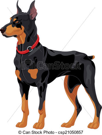 Doberman Vector Clip Art Royalty Free. 1,183 Doberman clipart.