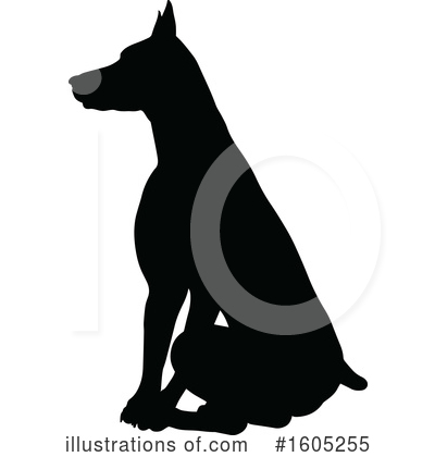 Doberman Pinscher Clipart #1071180.