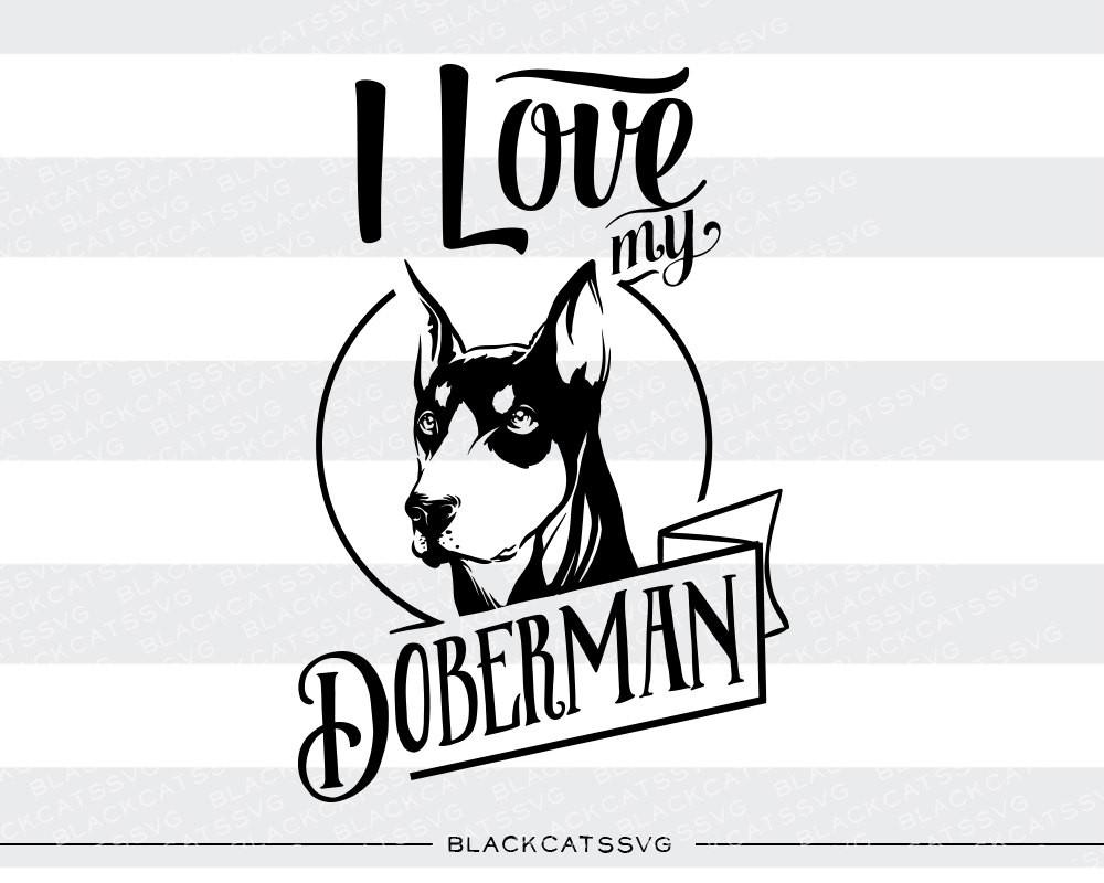 I love my doberman.