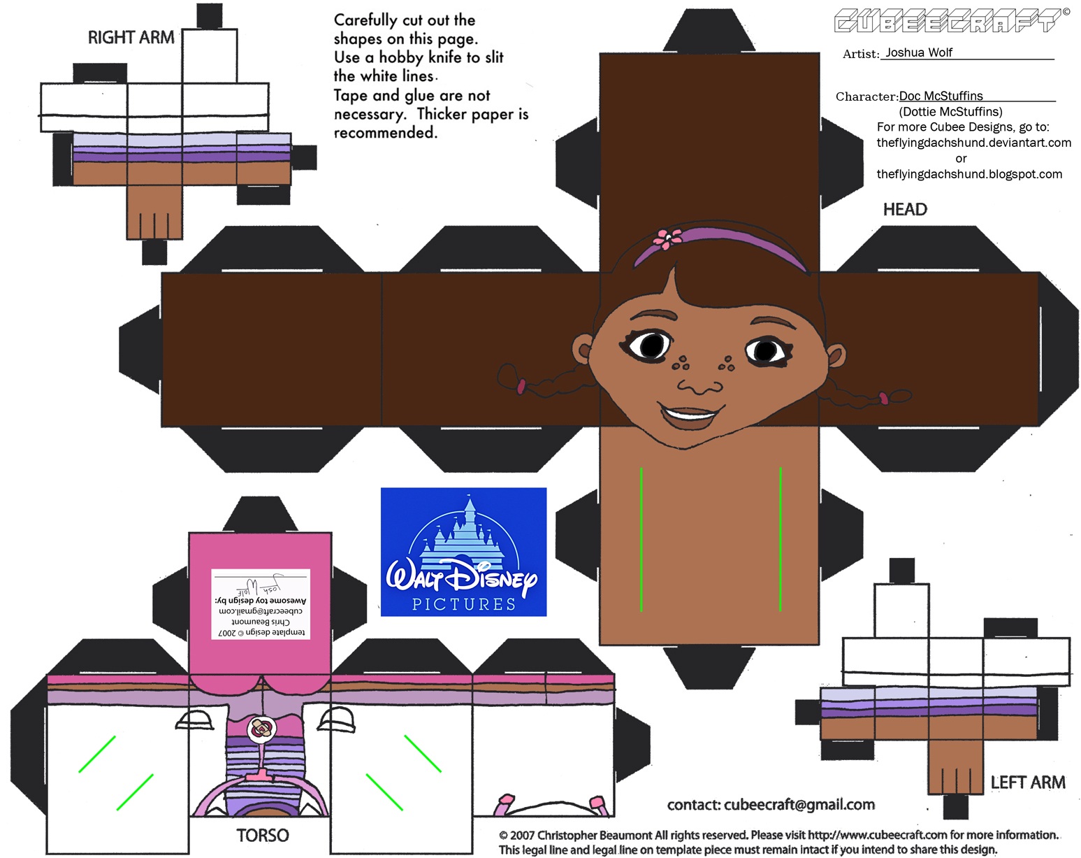 Dis26: Doc McStuffins Cubee by TheFlyingDachshund on DeviantArt.
