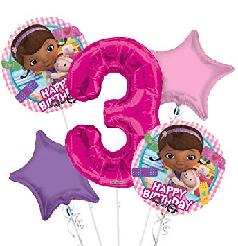 Amazon.com: Doc McStuffins Happy Birthday Balloon Bouquet.