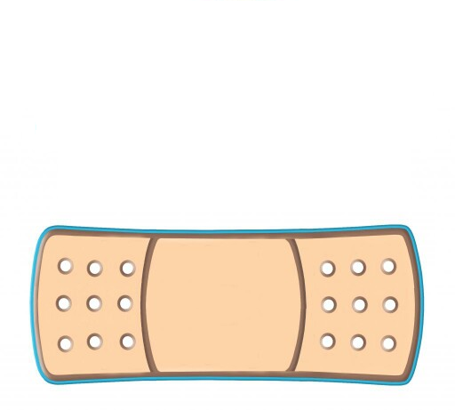 Blank Doc McStuffins Bandage.