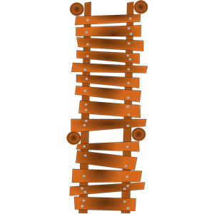 Old Poorly Build Dock clipart, cliparts of Old Poorly Build Dock.